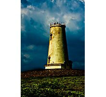 Eerie Lighthouse Photographic Print