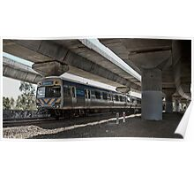 Metro Melbourne Poster