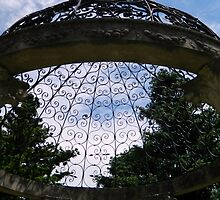 Garden Gazebo - Looking Up!     ^ by ctheworld