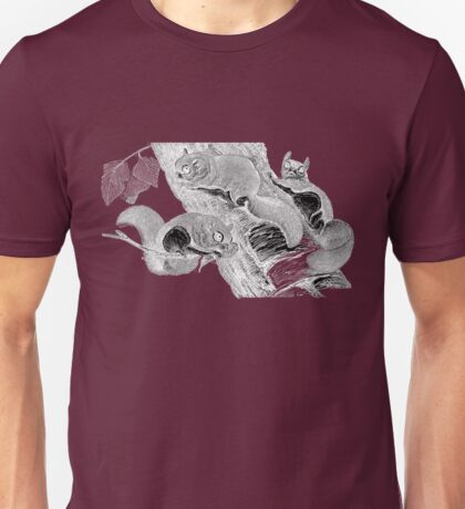 Southern flying squirrels Unisex T-Shirt