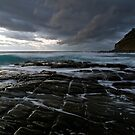 Garie Squares - Garie Beach, NSW by Malcolm Katon