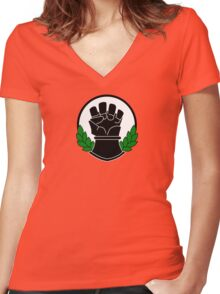 Imperial Fist Women's Fitted V-Neck T-Shirt