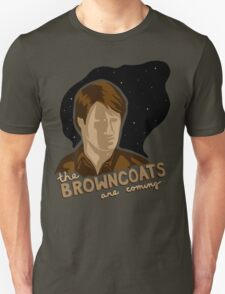 The Browncoats are Coming Unisex T-Shirt