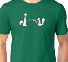 Squirrel robbery Unisex T-Shirt