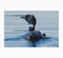 Adult Loon and Baby - Mississippi Lake, Ontario T-Shirt