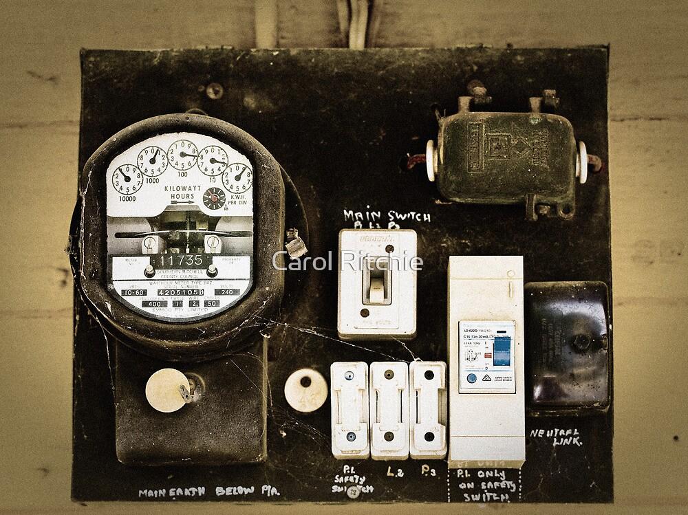 Old Meter by Carol Ritchie