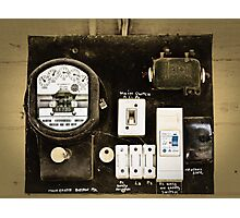 Old Meter Photographic Print