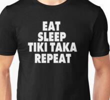 Eat Sleep Tiki Taka Repeat Unisex T-Shirt