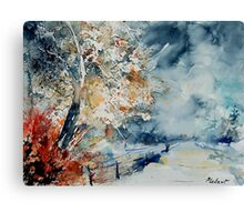 watercolor 2756982 Canvas Print