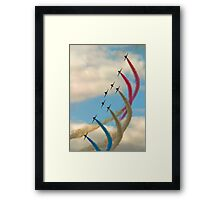 Red Arrows 1 Framed Print