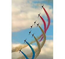 Red Arrows 1 Photographic Print