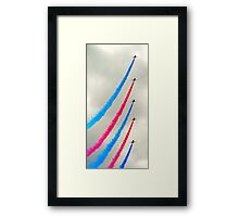 Red Arrows again Framed Print