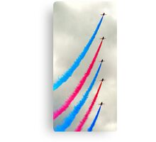 Red Arrows again Canvas Print