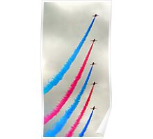 Red Arrows again Poster