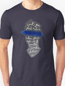 Sinatra blue Unisex T-Shirt