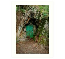 Long Tunnel Extended Gold Mine,Walhalla Art Print