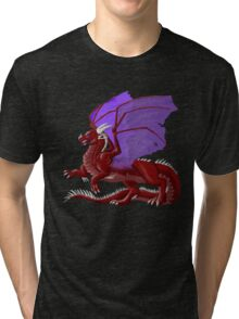 Dragon in Red Tri-blend T-Shirt