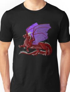 Dragon in Red Unisex T-Shirt