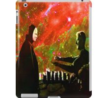 Playing chess with Death iPad Case/Skin