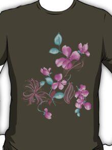 Cute purple flowers T-Shirt