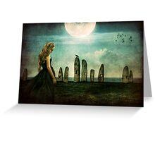 Moonlit Memories Greeting Card