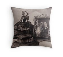 """Somewhere in Time"" Throw Pillow"