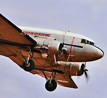 Up front, DC3 by bazcelt