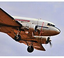 Up front, DC3 Photographic Print