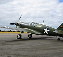 Curtiss P40F Warhawk by mikeforsberg