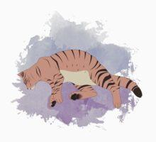Sleepy Cat Kids Tee