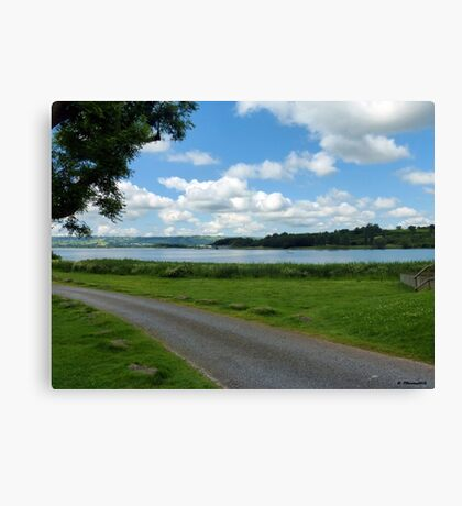 Clouds Over Chew Valley Lake, Somerset Canvas Print