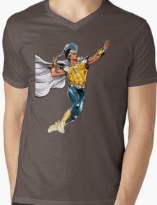Roger HERO Mens V-Neck T-Shirt