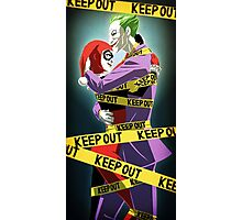 Joker and Harley Quinn Photographic Print