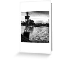 """BW"" Greeting Card"