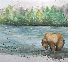 Landscape Bear by Morgan Campbell