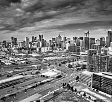 Melbourne City  by Christine  Wilson Photography