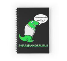 Pharmannosaurus Rx Spiral Notebook