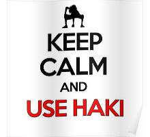 Keep Calm And Use Haki Poster