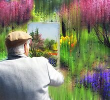 Impressionist Painter by Jessica Jenney