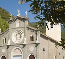 Riomaggiore, Cinque Terre, Italy by Ian Middleton