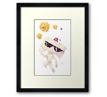 Hexahedrons Framed Print