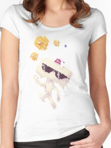 Hexahedrons Women's Fitted Scoop T-Shirt