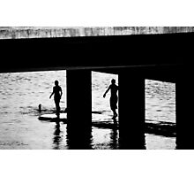"""""""The Swimmers"""" Photographic Print"""