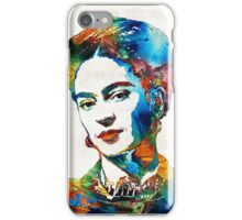 Frida Kahlo Art - Viva La Frida - By Sharon Cummings iPhone Case/Skin