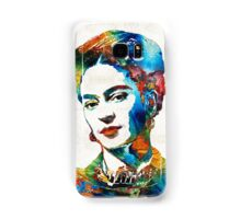 Frida Kahlo Art - Viva La Frida - By Sharon Cummings Samsung Galaxy Case/Skin