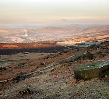 The Peak District At First Light by SteveMG