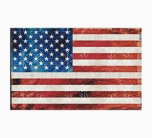 American Flag Art - Old Glory - By Sharon Cummings Baby Tee