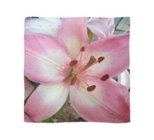 Bubble Gum Pink Lily Scarf