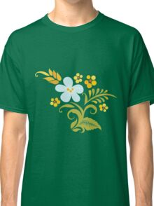 Watercolor floral pattern Classic T-Shirt