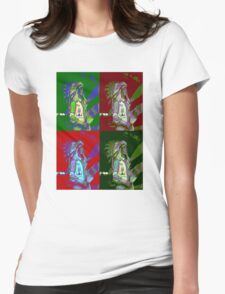 Indian Chief Pop Art 2 Womens Fitted T-Shirt